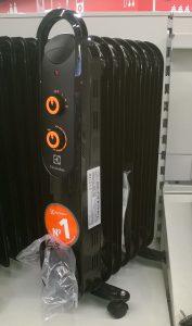 Новый масляный обогреватель electrolux eoh 4157