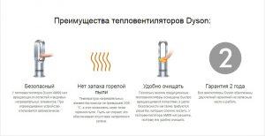 Тепловентилятор Dyson hot cool наиболее инновационный